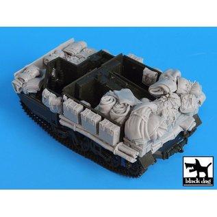 Black Dog Bren carrier accesories set - 1:35
