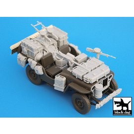 Black Dog Black Dog - British SAS Jeep north Africa 1942 - 1:35