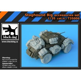 Black Dog Black Dog - Staghound Big accessories set - 1:35