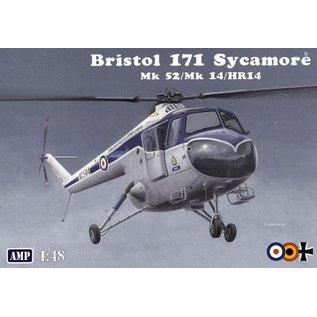 AMP Bristol 171 Sycamore Mk 52/Mk 14/HR14 - 1:48