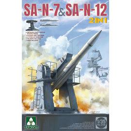 """TAKOM TAKOM - SA-N-7 & SA-N-12 (3S90 """"Uragan"""") - 1:35"""