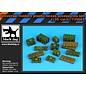Black Dog Universal modern plastic boxes accessories set - 1:35