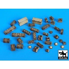 Black Dog Black Dog - British equipment accessories set - 1:35