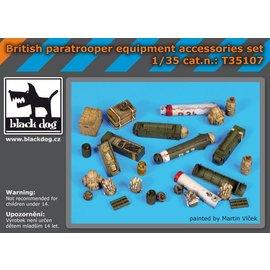Black Dog Black Dog - British paratrooper equipment accessories set - 1:35