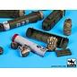 Black Dog British paratrooper equipment accessories set - 1:35