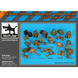Black Dog Black Dog - US Army (Vietnam) equipment accessories set - 1:35