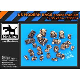 Black Dog Black Dog - US Modern Bags accessories set - 1:35