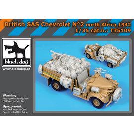 Black Dog Black Dog - British SAS Chevrolet No.2 North Africa 1942 - 1:35