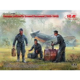 ICM ICM - German Luftwaffe Ground Personnel (1939 - 1945) - 1:32