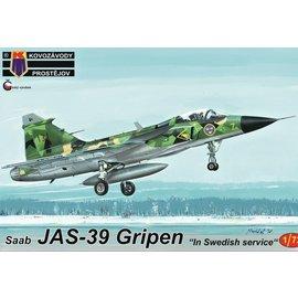"Kovozávody Prostějov Kovozávody Prostějov - SAAB JAS-39 Gripen ""Swedish Service"" - 1:72"