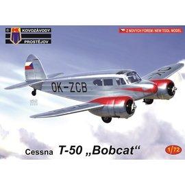"""Kovozávody Prostějov Kovozávody Prostějov - Cessna T-50 """"Bobcat"""" - 1:72"""
