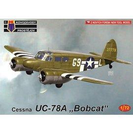 """Kovozávody Prostějov Kovozávody Prostějov - Cessna UC-78A """"Bobcat"""" - 1:72"""