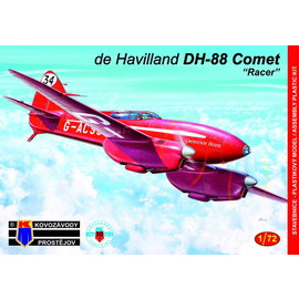 """Kovozávody Prostějov Kovozávody Prostějov - de Havilland DH-88 Comet """"Racer"""" - 1:72"""