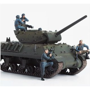 """Academy USSR M10 Tank Destroyer """"Lend-Lease"""" with 5 figures - 1:35"""