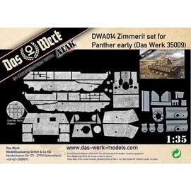 Das Werk Das Werk - Zimmerit-Set für Panther early (DW35009) - 1:35