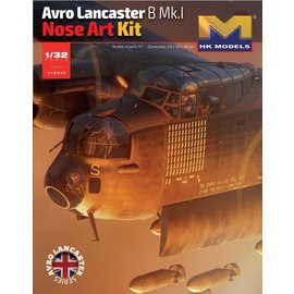 Hong Kong Models HKM - Avro Lancaster B Mk.I Nose Art Kit - 1:32