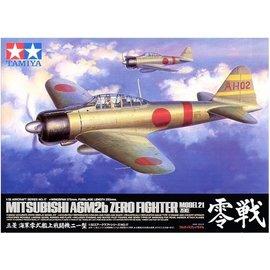"TAMIYA Tamiya - Mitsubishi A6M2b Type 21 ""Zero"" - 1:32"