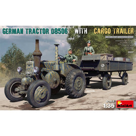 MiniArt MiniArt - German Tractor D8506 with Cargo Trailer - 1:35