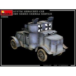 MiniArt Austin Armoured Car 3rd Series - German, Austro-Hungarian, Finnish Service w/Interieur - 1:35