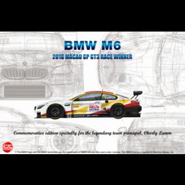 NuNu Model Kit Nunu - BMW M6 GT3 2018 Macao Grand Prix Race Winner - 1:24
