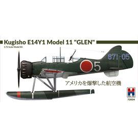 """Hobby 2000 Hobby 2000 - Kugisho E14Y1 Model 11 """"Glen"""" - 1:72"""