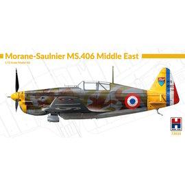 Hobby 2000 Hobby 2000 - Morane-Saulnier MS.406 Middle East - 1:72
