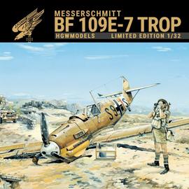 HGW HGW -  Messerschmitt Bf 109E-7 Trop - Limited Edition - 1:32