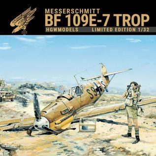 HGW Messerschmitt Bf 109E-7 Trop - Limited Edition - 1:32