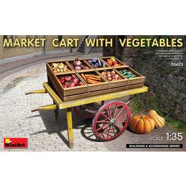 MiniArt MiniArt - Market Cart with Vegetables - 1:35