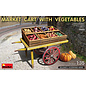 MiniArt Market Cart with Vegetables - 1:35