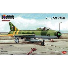 Kovozávody Prostějov Kovozávody Prostějov - Suchoj Su-7BM Czechoslovak AF + PE-parts + mask - 1:48