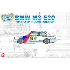 NuNu Model Kit NuNu - BMW M3 E30 '88 Spa 24 Hours Winner - 1:24