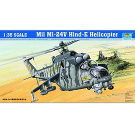 Trumpeter Trumpeter - Mil Mi-24V Hind-E Assault Helicopter - 1:35