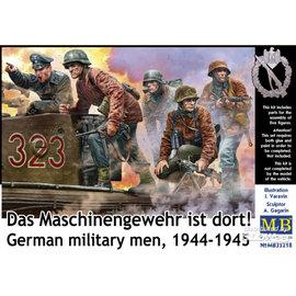 """Master Box Master Box - German Military Men 1944 - 1945 """"Das Maschinengewehr ist dort"""""""" - 1:35"""