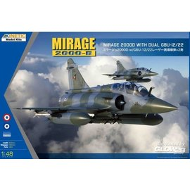 Kinetic Kinetic - Dassault Mirage 2000B/D/N w/LGB - 1:48