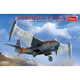 Amusing Hobby Amusing Hobby - Weserflug P.1003 - 1:48