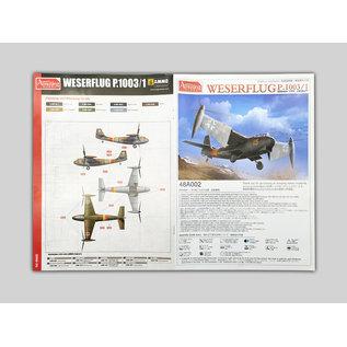 Amusing Hobby Weserflug P.1003 - 1:48