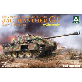 TAKOM TAKOM - Sd.Kfz. 173 Jadgpanther G1 (early production) w/Zimmerit - 1:35