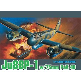 Dragon Dragon - Junkers Ju 88P-1 w/75mm PaK 40 - 1:48