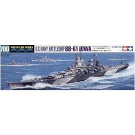 TAMIYA Tamiya - U.S. Schlachtschiff BB-61 Iowa - Waterline No. 616 - 1:700