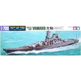 TAMIYA Tamiya - jap. Schlachtschiff Yamato - Waterline No. 113 - 1:700