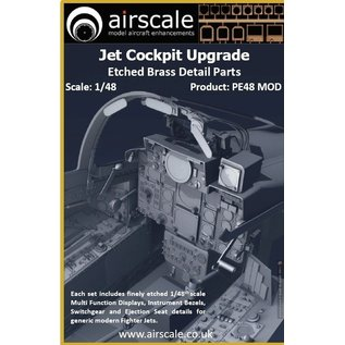 Airscale Jet Cockpit Upgrade - Etched Brass - 1:48