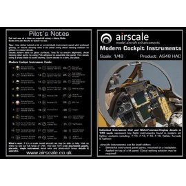 Airscale Airscale - Modern Cockpit Instruments - 1:48