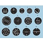 Airscale WWII RAF Instrument Dial Decals - 1:32
