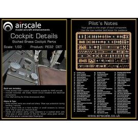 Airscale Airscale - PE Cockpit Details / Etched Brass Cockpit Parts - 1:32