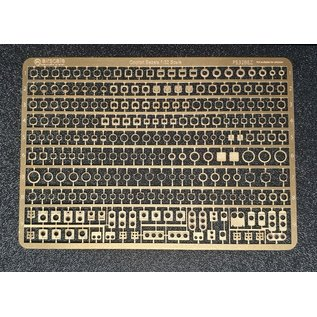 Airscale PE Instrumentenrahmen / Etched Brass Instrument Bezels - 1:32