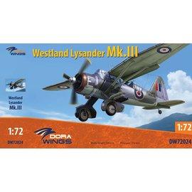 Dora Wings Dora Wings - Westland Lysander Mk.III (4x camo) - 1:72