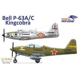 Dora Wings Dora Wings - Bell P-63A/C Kingcobra (9x camo) - 1:144