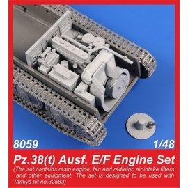 CMK CMK - Engine Set Panzer 38(t) Ausf. E/F - 1:48