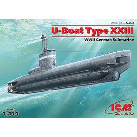 ICM ICM - U-Boat Type XXIII WWII German Submarine - 1:144